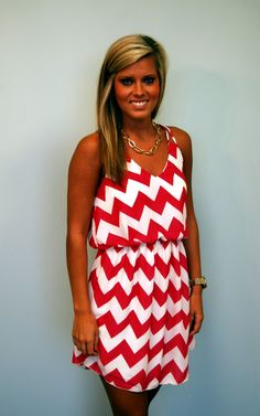 My Fav in Chevron $44.00 Reasonable price for a cute dress.