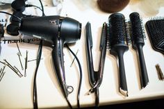 Tools of the trade ghd at London Fashion Week AW13
