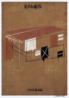 Gallery - Federico Babina's ARCHILINE Paints the Essence of Architecture's Greatest Works - 8