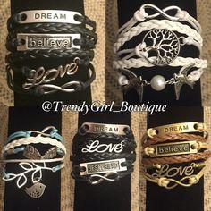 Layered Rope Bracelets