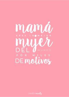 Mimando a las Mamás...¡Feliz Día de la Madre!