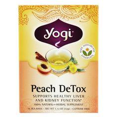 Peach DeTox 16 bags
