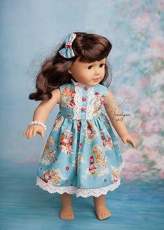 18 inch doll set. Vintage Clothing #americangirl #dollclothing #handmade