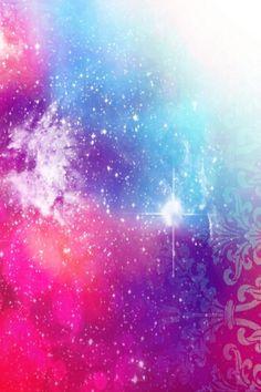 Cute iPhone galaxy wallpaper