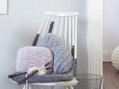 Kissen, Körbe oder einen Schal selber machen – unsere schönsten Ideen zum Stricken.