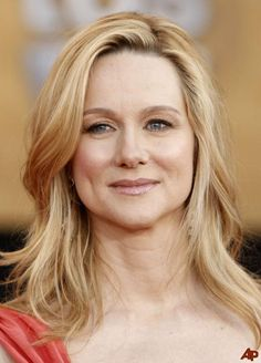 Laura Linney medium-length hair