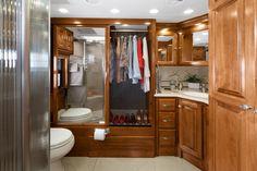 2013 Tiffin Motorhomes Phaeton bathroom