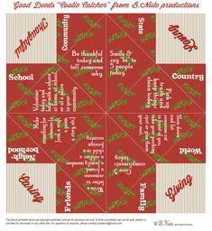 Christmas Eve Box, Diy Christmas Cards, Christmas Crafts For Kids, Xmas Crafts, Fun Crafts, Paper Crafts, Christmas Ideas, Origami Printables, Free Printables