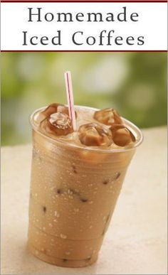 Homemade Iced Coffees