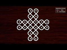 Very Easy Rangoli Kolam with Dots Henna Art Designs, Rangoli Designs Flower, Rangoli Ideas, Rangoli Designs With Dots, Rangoli Designs Images, Kolam Rangoli, Rangoli With Dots, Beautiful Rangoli Designs, Indian Rangoli