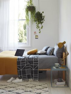 Are you a night-time shopper? John Lewis reveals the homeware were buying after midnight! Room Ideas Bedroom, Home Decor Bedroom, University Bedroom, Small Bedroom Inspiration, Uni Room, Dorm Room, Student Bedroom, Pinterest Room Decor, Hall Room