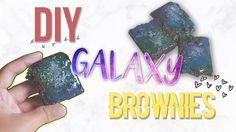DIY: BROWNIES DE GALÁXIA