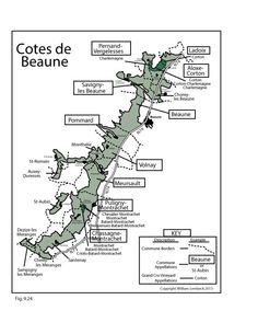 France: Cotes-de-Beaune #Wine Region   by @wine_educators