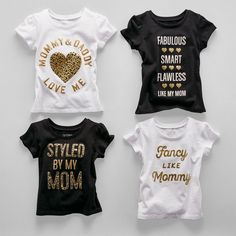 Toddler girls' fashion | Kids' clothes | Graphic  tees | Family love | The Children's Place