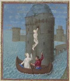Français 64 Date d'édition : 1401-1500 Type : manuscrit Langue : Français Format : Vélin, miniatures, lettres ornées Droits : domaine public Identifiant : ark:/12148/btv1b85624763