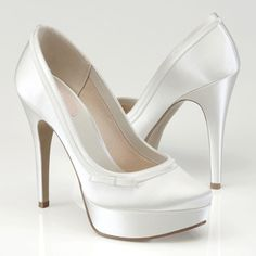 Caprice High Heel Wedding Shoes - Pink By Paradox