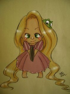 Tangled_Young Rapunzel by asami-h on DeviantArt