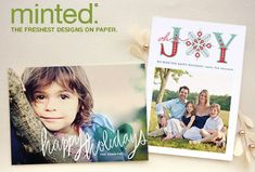 minted photographer program :: set up your own card design and printing store (similar to tiny prints)