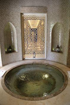 A hammam in Marrakech.