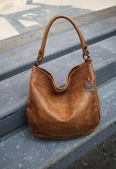 bbcb059a6993 Melissa Hobo. Brown Leather BagsLeather ...