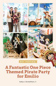 Find Treasure at Emilio's One Piece Themed Birthday Pirate Birthday Invitations, 1st Birthday Themes, Baby Boy 1st Birthday, Birthday Party Decorations, Pirate Theme, Pirate Party, One Peice Anime, One Piece Birthdays, One Piece Theme