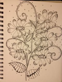Zentangle Flowers!!!