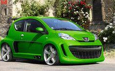 MagicManu.com - Tuning Virtuel :: Voir le sujet - Peugeot 107
