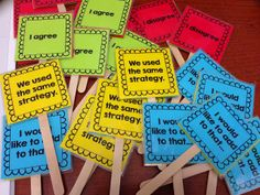 Fun way to help structure conversation p4c