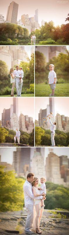 central park glimpses of skyline (nyc baby photography, family photographer long island)