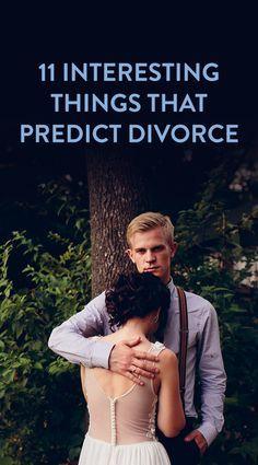 11 Indicators That Predict Divorce
