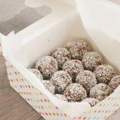 Suikervrije bonbons met Dadels, Cacao & Amandelen