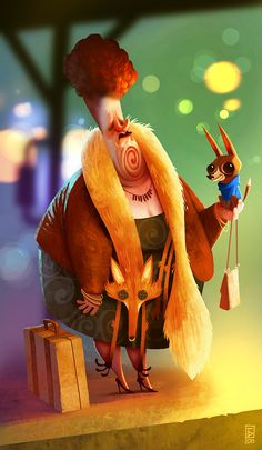 Characters by Boris Bakliža, via Behance
