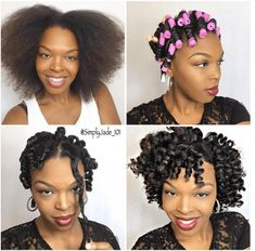 See The Beautiful Perm Rod Heatless Curls tutorial for gorgeously defined curls. Try this style on short medium or long natural hair. - August 11 2019 at Short Medium Length Hair, Medium Hair Styles, Curly Hair Styles, Natural Hair Styles, Relaxed Hair, Heatless Curls Tutorial, Perm Rod Set, Natural Hair Tutorials, Long Natural Hair
