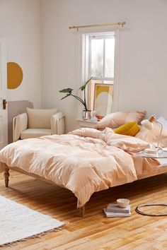 Shop Juni Circles Duvet Set at Urban Outfitters today. We carry all the latest styles, colors and brands for you to choose from right here. Cozy Bedroom, Bedroom Decor, Master Bedroom, Bedroom Ideas, Narrow Bedroom, Bedroom Curtains, Bedroom Lighting, Bedroom Designs, Interior Lighting