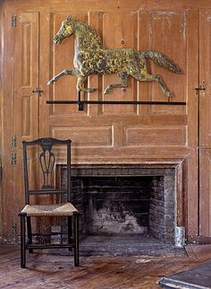 Primitive Colonial Mantel