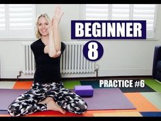 OPEN UPPER BODY and SHOULDERS // Beginner Yoga #6 of 8 - YouTube