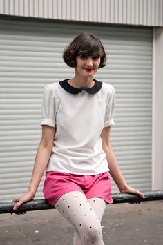Amelie Inspired Hair Short amelie-inspired bob