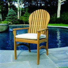 Kingsley-Bate Hampton Teak Dining Chair