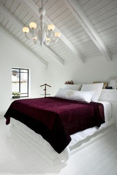 Great Contemporary Bedroom By Eran Turgeman   Photographer   This Is Very Nearly  Burgundy, But I