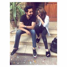 Bilal Abbas and Hania Amir Pakistani Culture, Pakistani Dramas, Pakistani Actress, Stylish Couple, Cute Love Couple, Pakistan Movie, Indian Engagement Photos, Bilal Abbas Khan, Hania Amir