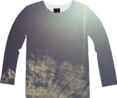 Wispy Clouds Long Sleeve Tee from Print All Over Me