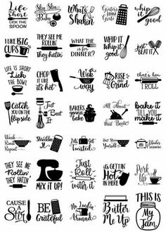 This Fun Kitchen SVG bundle includes 77 Kitchen elements & quotes Cut Files. You can use the files with your Cricut, Cameo Silhouette or other major home electric cutting machines. If you have Silhouette Cameo BASIC version, you will need to use DXF, Easy Diy Crafts, Diy Crafts To Sell, Sell Diy, Decor Crafts, Simple Crafts, 3d Laser Printer, Cricut Creations, Cricut Vinyl, Cricut Apps