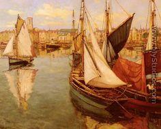 Dans Le Port De La Rochelle (In the Port of La Rochelle) - Georges Charpentier