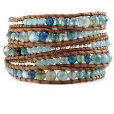 Image result for leather wrap bracelet
