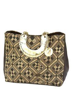 Atoti bakuba bag, kuba cloth - Swaady collection
