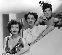 """The Women"", a whole film of fabulous Adrian designs. Stars Joan Crawford, Norma Shearer and Rosalind Russell"