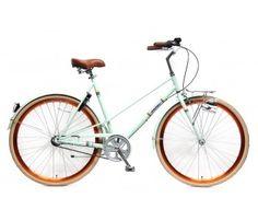 Met deze Popal Capri | 50cm Groen wil jij zeker weten gezien worden! #urbanbike #stadsfiets #vintage #mintgroen Bestel deze fiets op www.fietsline.nl