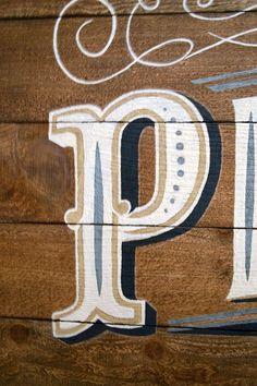 Hand-painted Pixelgarden Sign | Storypiece.net                                                                                                                                                     More