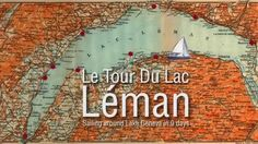 Lac Léman, is a vast body of fresh water carved out of the Alps between France and Switzerland. Geneva is at the western end which is why it is also known La. Lake Geneva, Official Trailer, Alps, Fresh Water, Switzerland, Sailing, Tours, France, Day