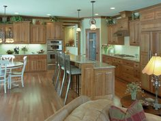 Open Kitchen Layout | Plan 091D-0436 | House Plans and More
